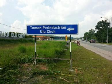 Tanah pertanian di Ulu Choh, Pekan Nanas, Johor