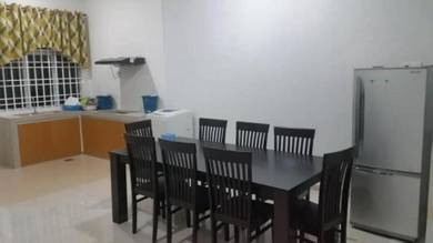 Large Fully Furnished 2-Storey SemiD Near Airport, 5 Rooms
