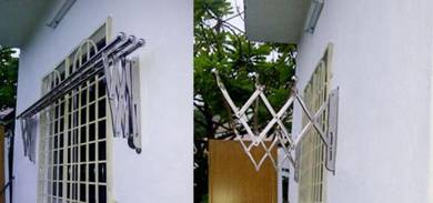S/s Retractable foldable Clothes Drying Rack