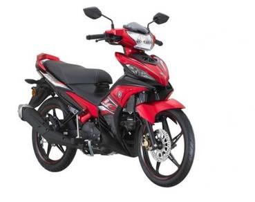 Yamaha LC 135 100% Loan kedai b/list ic sahaja