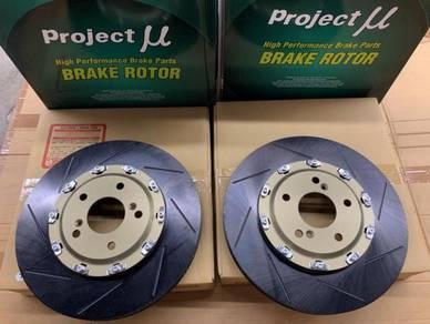 Project Mu U - SCR GT Disc Rotor Honda FK2 FK8 R