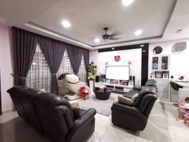 2.5 storey fully renovated house bandar puteri klang