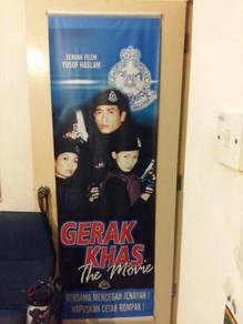 Poster Original GERAK KHAS THE MOV Limited Edition