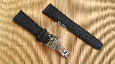 IWC PILOT 22 mm Kevlar & Leather Watch Strap