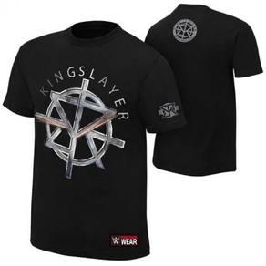 WWE WWF Shirts Seth Rollins King Slayer WRESTLING