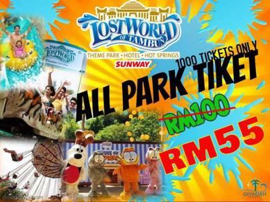 Tiket termurah ke lost world of tambun!!
