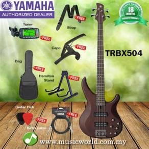 Yamaha Bass TRBX-504 Brown