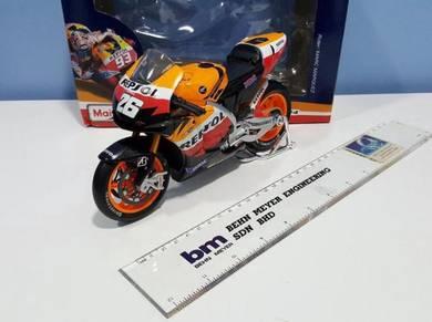 Maisto 1:10 Honda Pedrosa #26 MotoGP Diecast Motor