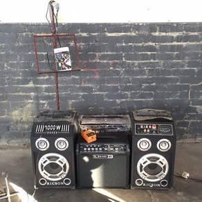 Guitar amp line 6/ guitar / mixer / speaker