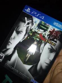 PS4 Yakuza Kiwami Steelbook Edition