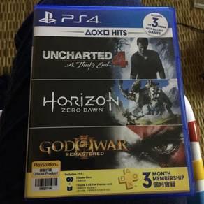 Horizon zero dawn & uncharted 4
