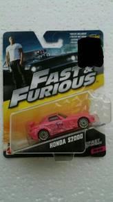 Mattel Fast & Furious Honda S2000 Pink