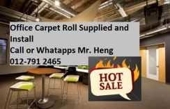 Office Carpet Roll install for your Office 34xddr