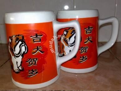 Cawan vintage guinness mug cup