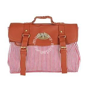 BB036 Women Classic Shoulder Tote bag Red