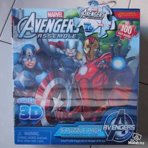 Marvel avengers 3d puzzle