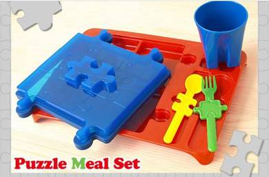 Kids tableware - puzzle meal set