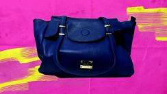 SUMMIT handbag blue colour