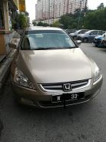 Honda Accord for rent
