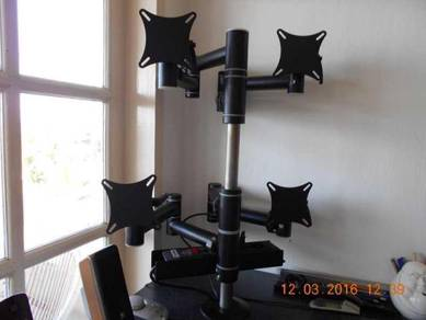 High Quality MULTI-MONITOR HOLDER Made in Germany