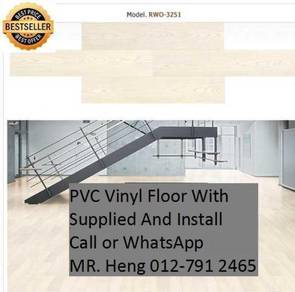 Beautiful PVC Vinyl Floor - With Install h4t943t