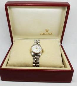 DateJust 6917 White Dial 18K Gold Steel 26mm