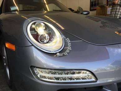 Porsche 997 Carerra Head lamp 991 design