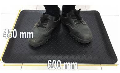ESD Anti Fatigue Mat 450mm x 600mm All Black
