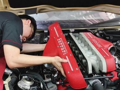 Maserati ferrari lamborghini repair service rebuil