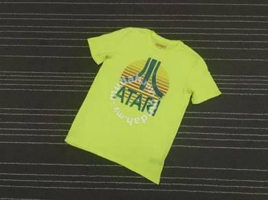 Atari games logo tee saiz s to m