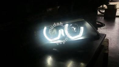 Bmw e90 /e91 4d projector head lamp black