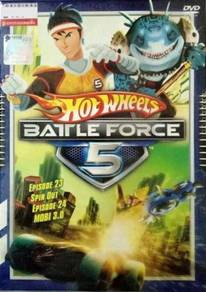 DVD ANIME Hot Wheels Battle Force 5 Vol.23 & 24