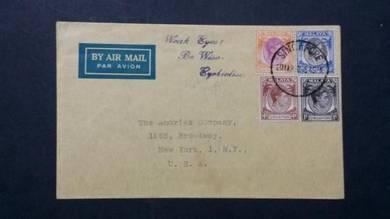 Cover Malaya USA 1950 No 2201