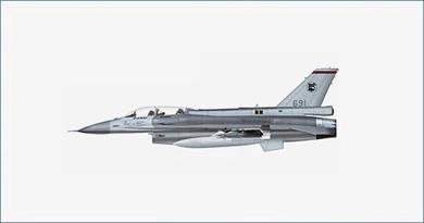 HM HA3837 Lockheed F-16D