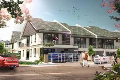Rumah baru teres 2 tingkat di Pedas Linggi,Negeri Sembilan