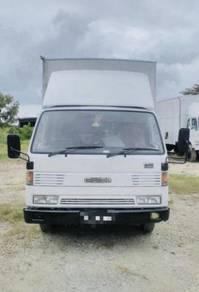 1995 mazda box lorry 5 ton