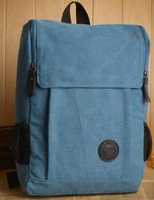 Wild West Travel Notebook Bag Men Backpack (Blue)