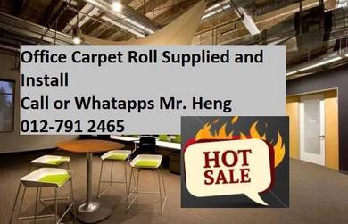 BestSeller Carpet Roll- with install 56gf