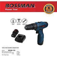 Bossman 12v cordless impact hammer drill bgsb-120