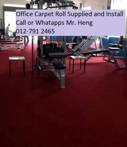 Natural Office Carpet Roll with install 567