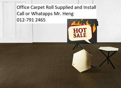 Plain Design Carpet Roll - with install 567yhg