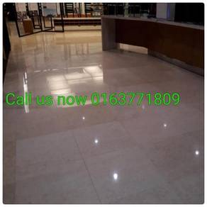 Polisht errazzo marble polish /Carpet cuci