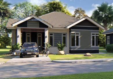 Rumah Bungalow Pintar Atas Bukit Untuk Dijual