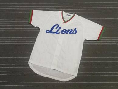 LIONS PUTIH BY MIZUNO baseball jerseys XL