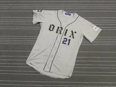 ORIX BUFFOLOES 21 by MIZUNO baseball jerseys size