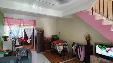 Bestari Indah Double storey Medium cost house