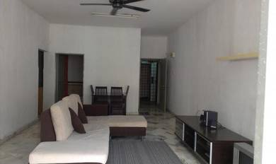 Fully furnish with 2 air-cond unit at Lagoon Perdana apartment, Sunway
