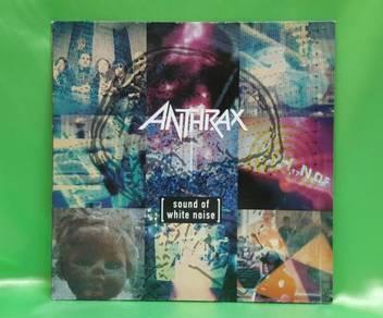 Anthrax SOUND OF WHITE NOISE 1993 Elektra LP