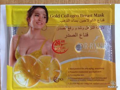 Collagen Crystal Beauty Spa Breast Skin Care Gold