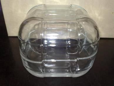 Kotak kaca coca cola coke glass trinket box
